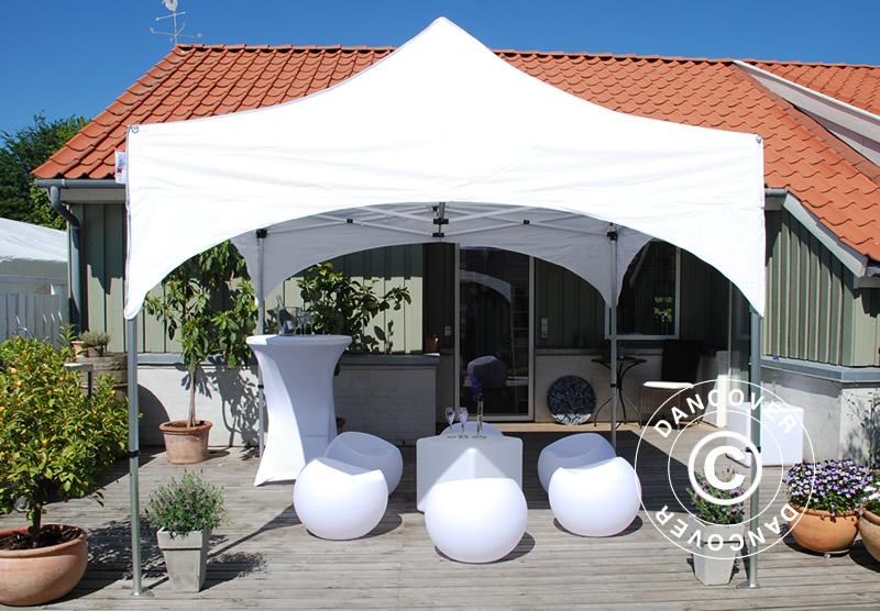 FleXtents-vouwtenten met exclusief gewelfd dak