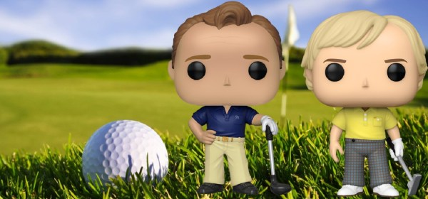 Golf Greats Arnold Palmer and Jack Nicklaus Popified
