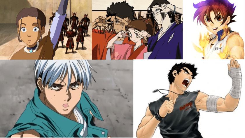 Martial Arts Anime Series