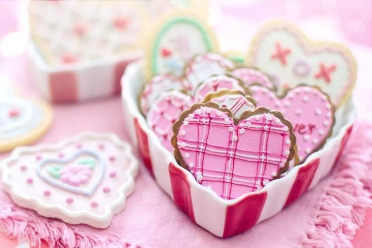 sušenka do tvaru srdce