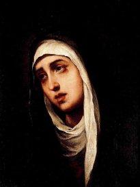 Virgen de los Dolores, Murillo