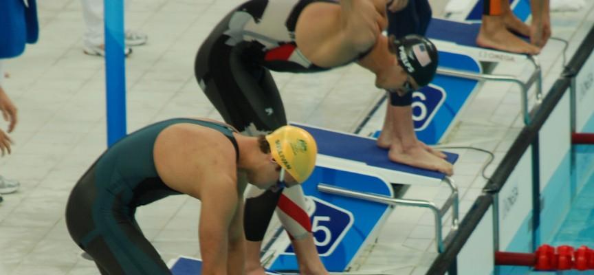 Des combinaisons de natation inspirées de la peau du requin.