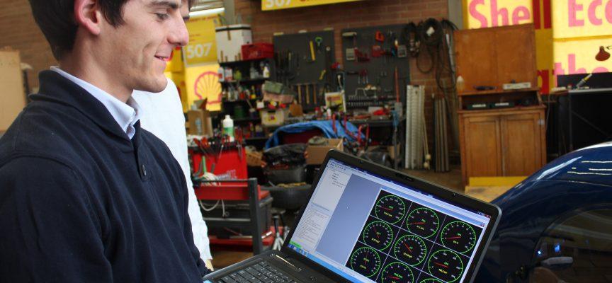 Tous les paramètres sont gérés via un logiciel relié à la carte électronique du véhicule.