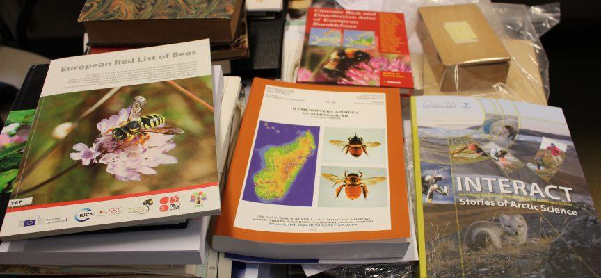 L'équipe du Professeur Rasmont de l'UMONS a déjà publié plusieurs ouvrages de références sur les abeilles.
