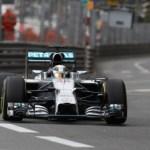 2014 Rd.6 モナコGP FP1 ハミルトンがトップ