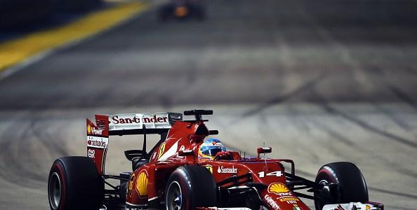 2014 シンガポールGP観戦記 アロンソ 幻の表彰台