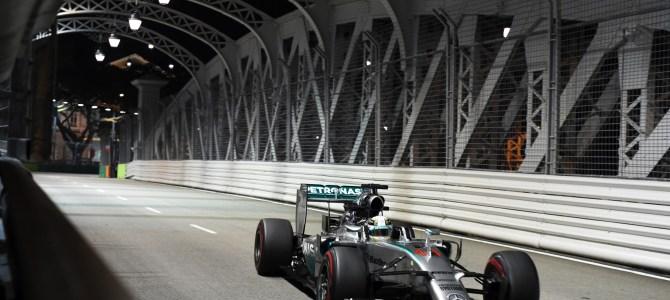 2014 Rd.14 シンガポールGP観戦記 実力で勝利を引き寄せたハミルトン