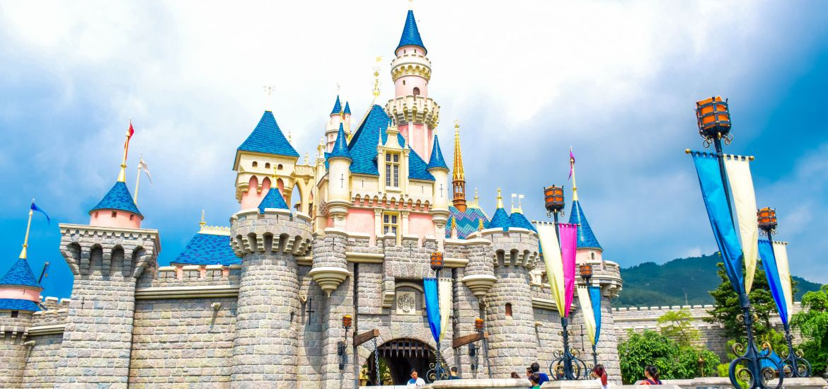 HONG KONG DISNEYLAND CASTLE DISNEYLAND RESORT