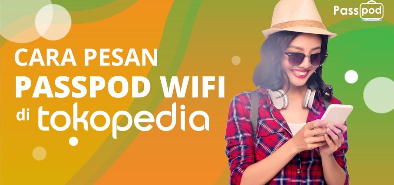 Passpod, Wifi, Mifi, Pesan Wifi di Tokopedia