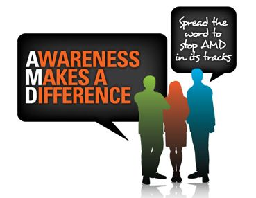 February Is Age-Related Macular Degeneration (AMD) and Low Vision Awareness Month