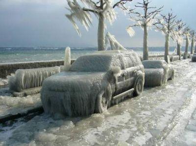 Richtig kalt!