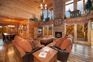 Lookout Lodge 4 Bedroom Luxury Log Cabin