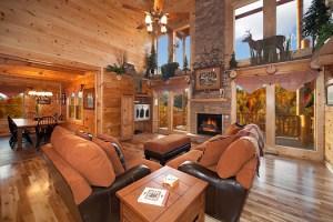 Lookout Lodge 4 Bedroom Luxury Log Cabin