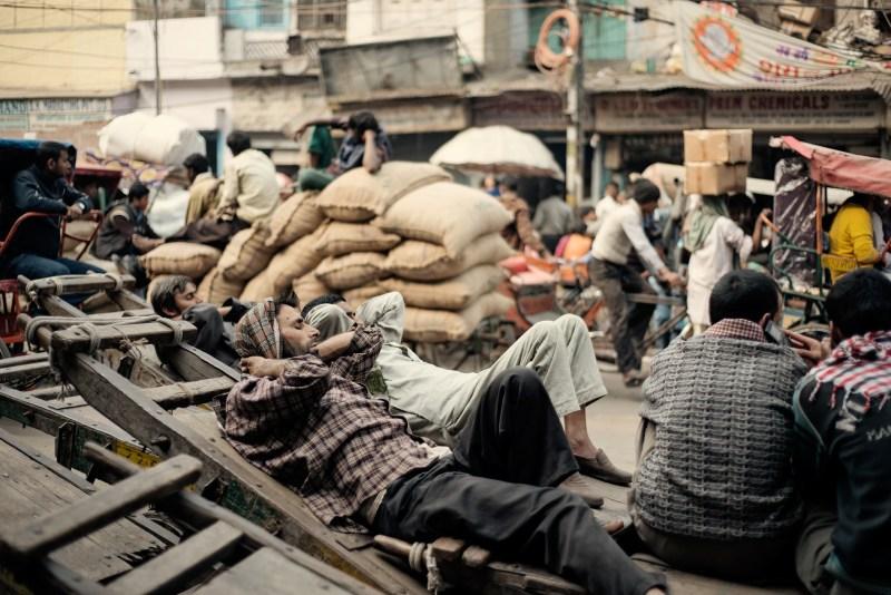 Street Scene In Delhi India Travel Photographer