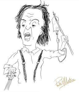 Paul McCartney caricatura
