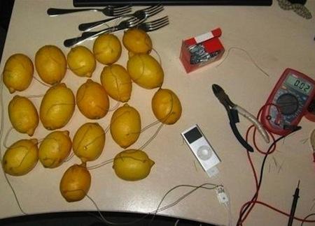 Lemon iPod Charger