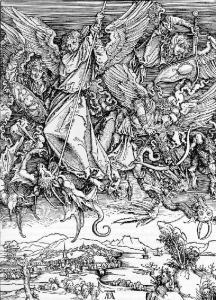Combate de São Miguel com o Dragão