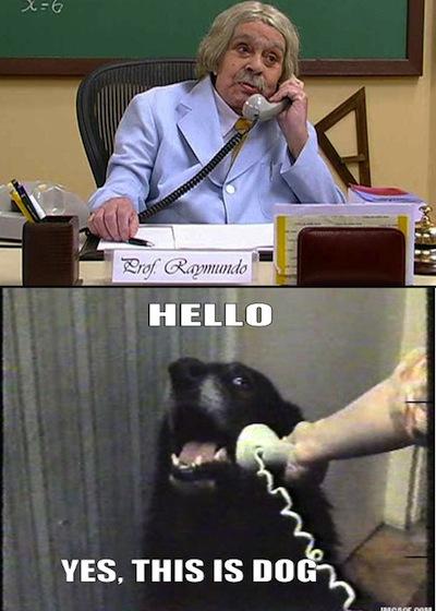Chamada para Raimundo