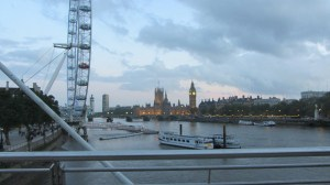 London at morning