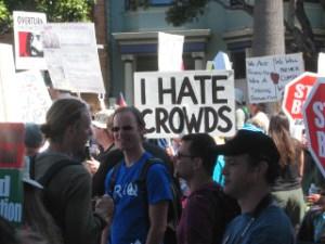 i hate crowds