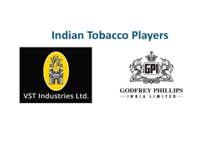 Report on Indian Tobacco Industries Players