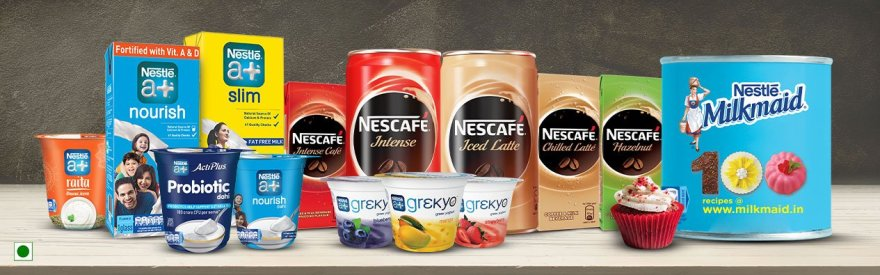 Nestle milk products