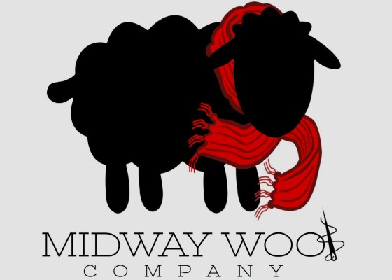 Midway Wool Company Logo