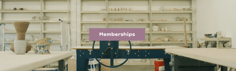 subscriptions for pottery studio membership