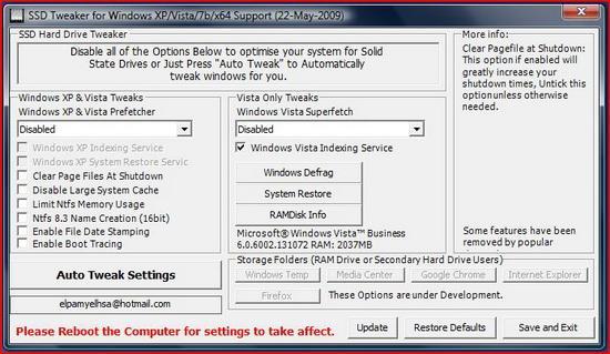 SSD-Tweaker-Optimizare-sistem-pentru-SSD-2