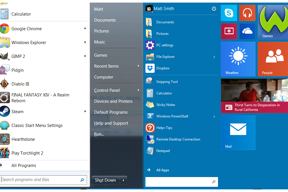 windows10startmenu