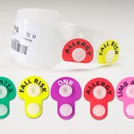 Alert Snaps with patient ID wristband