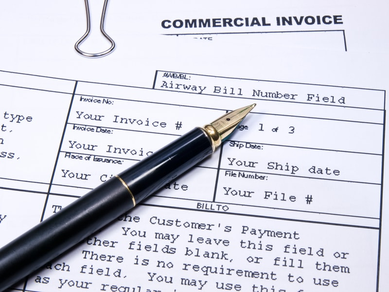commercial invoice a crucial document for international trade