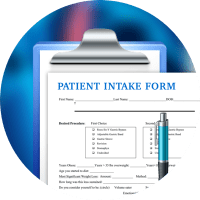 Millenium Chiropractic, patient intake forms, PDFfiller, processing forms, whitepaper