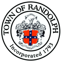 the logo of randolph city in circle