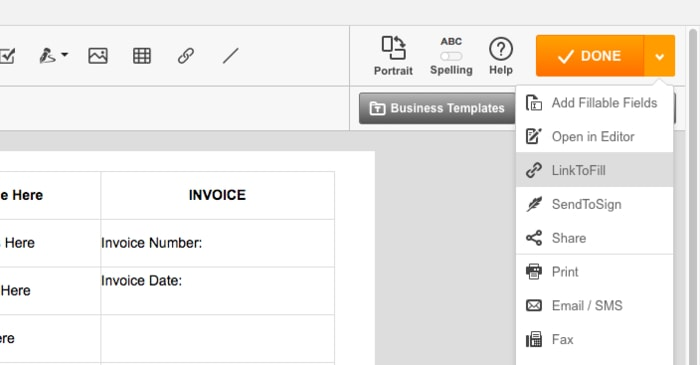fillable PDF form, how to create fillable PDF