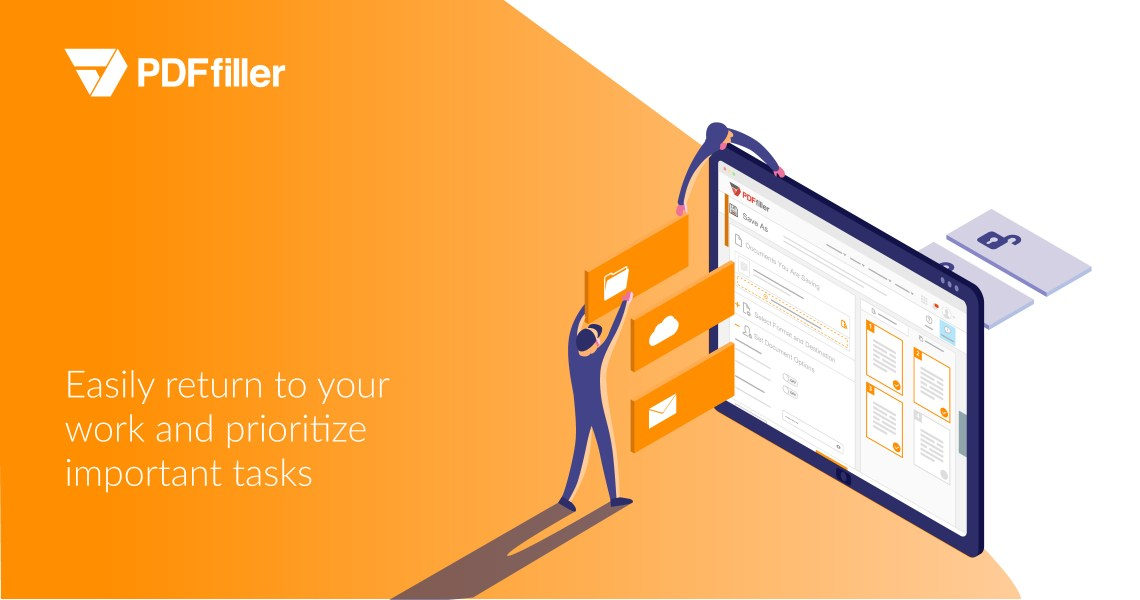 digital workflow solution, PDFfiller Dashboard