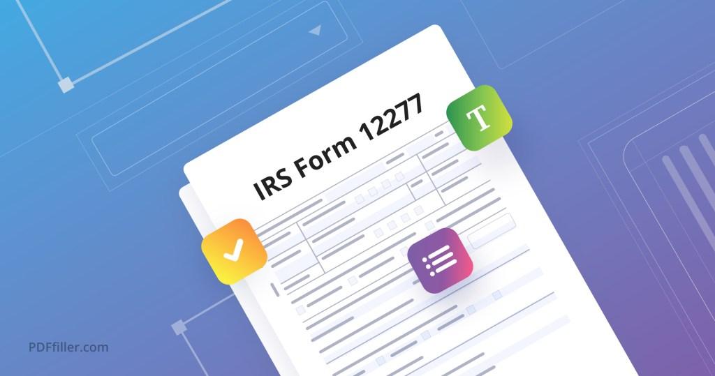 IRS Form 12227