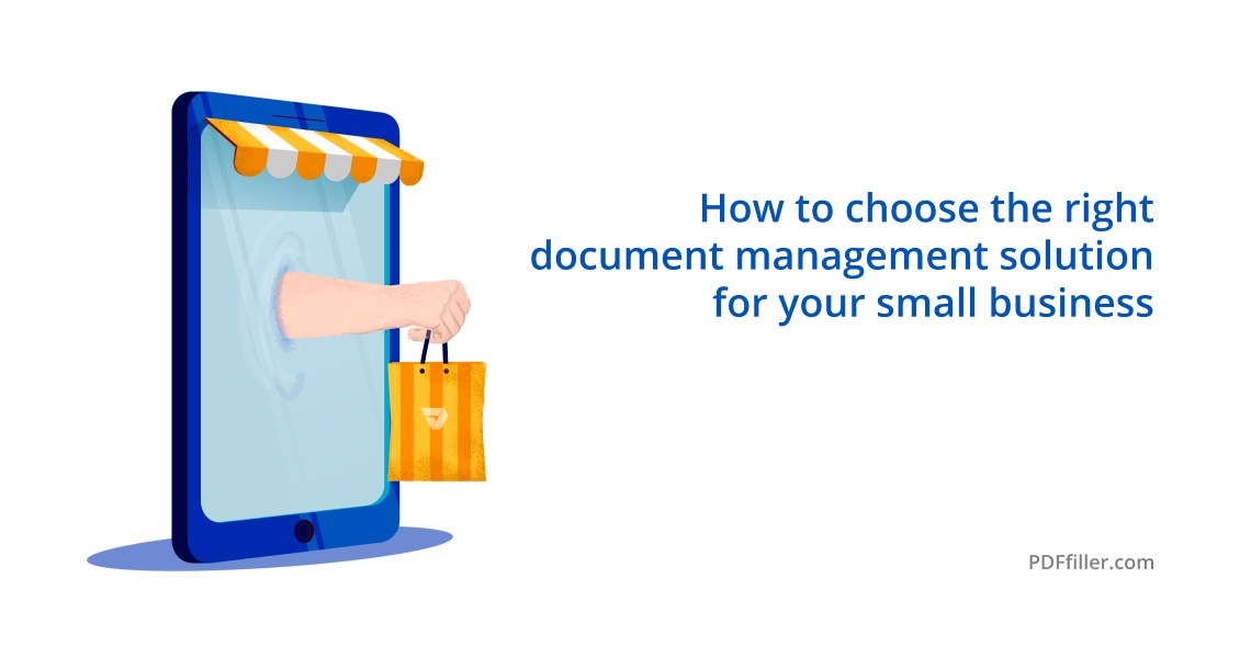 document management solution small business