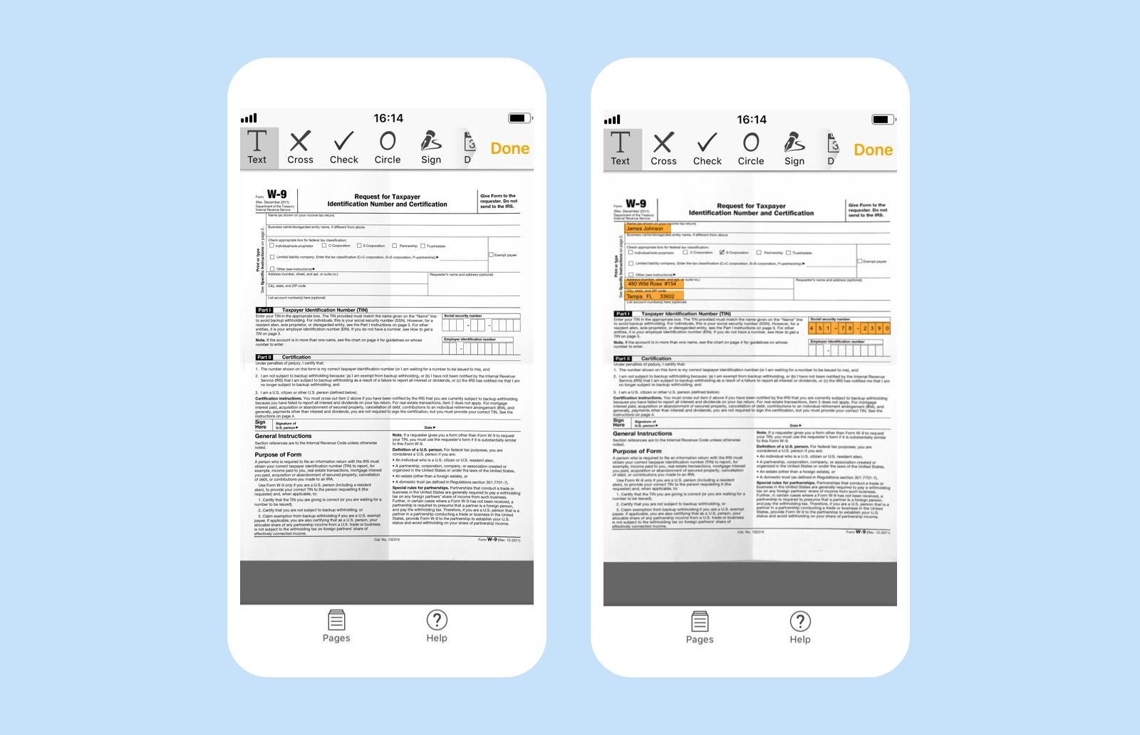 Introducing ScanToFill, a free document scanner for Android