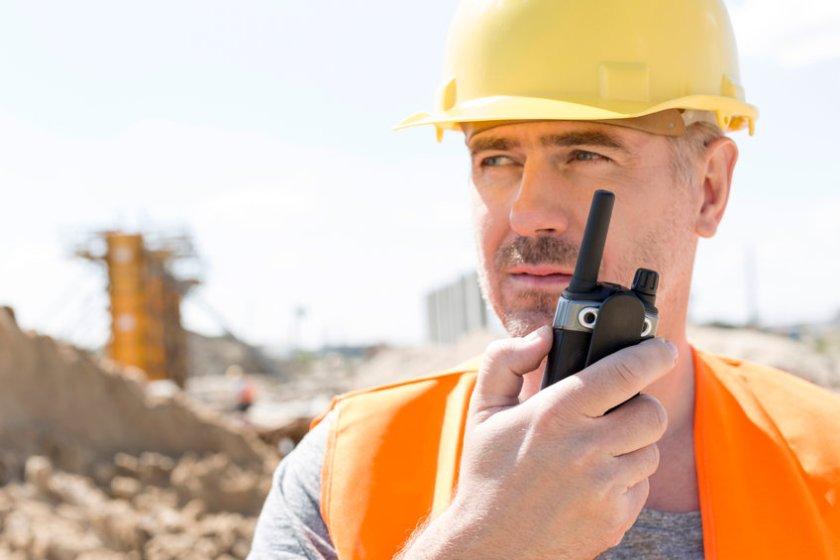 PTT For Construction Peak Radio Accessories