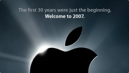 Welcome 2007 from Apple