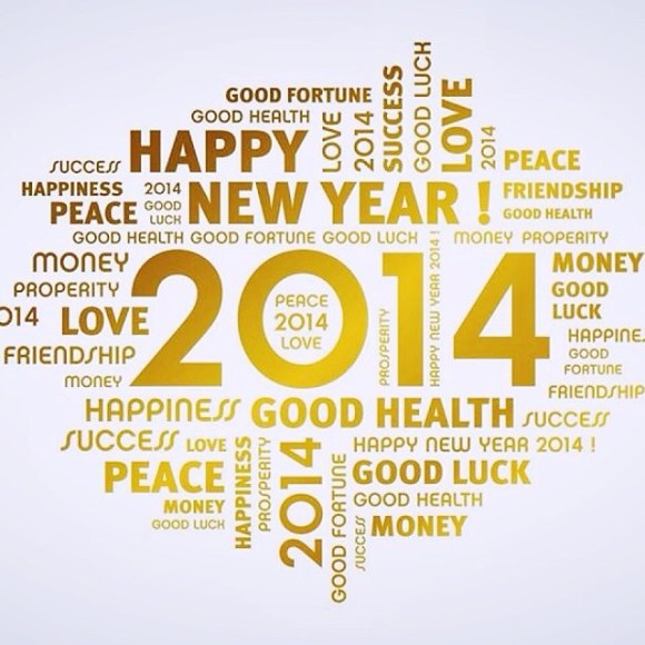 Here comes the future: Happy New Year! #2014