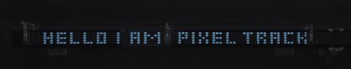 Pixel Track Hello