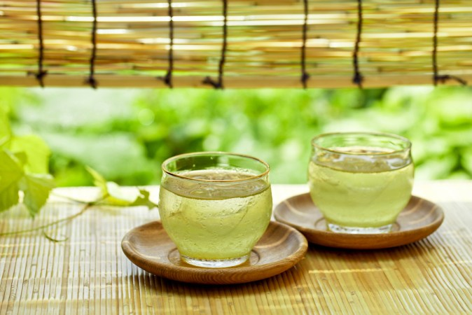 Chilled Green Tea