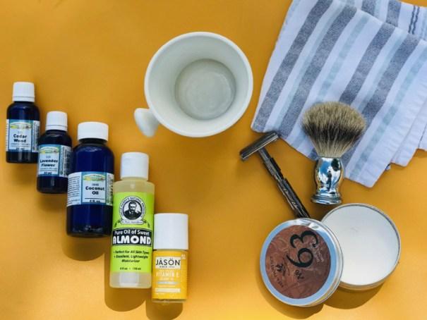 Men's shaving and skincare