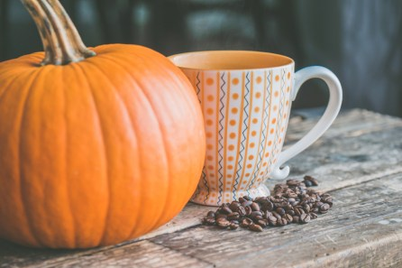 Pumpkin and Coffee