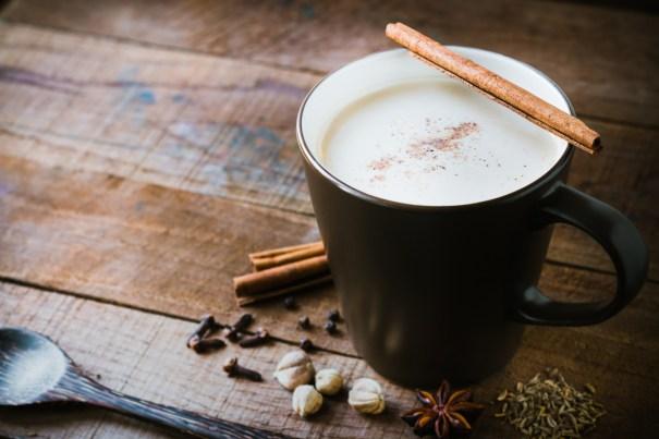 Chai Tea Latte in a Mug