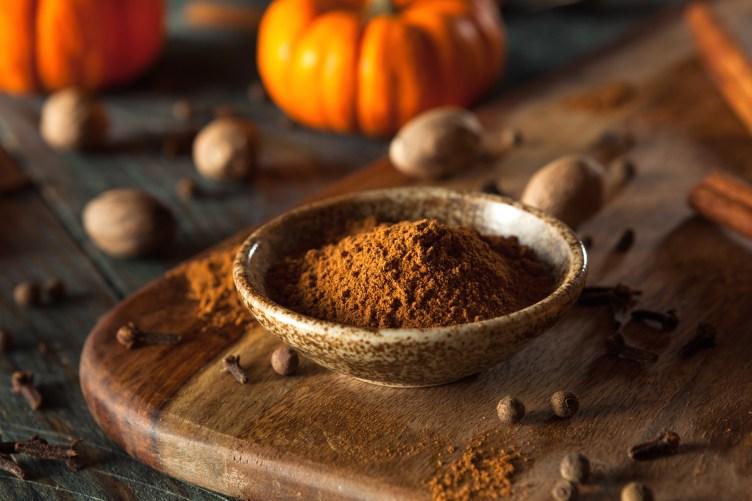 The spices of Pumpkin Pie Spice blend