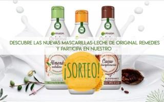 Original Remedies Mascarillas Leche Sorteo