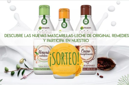 Original Remedies Mascarillas Leche Sorteo